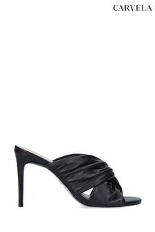 Carvela Guava Black Heels