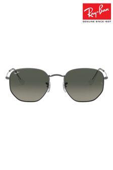Ray-Ban Hexagonal Flat Lens Sunglasses