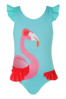Monsoon S.E.W Baby Cora Flamingo Swimsuit