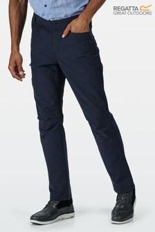Regatta Blue Delgado Trousers