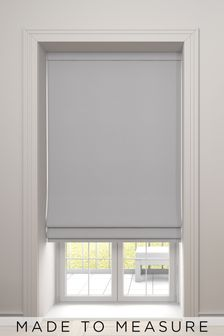 Imogen Moon Grey Made To Measure Roman Blind