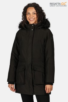 Regatta Black Sefarina Waterproof Jacket