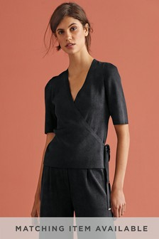 Co-ord Wrap Jumper