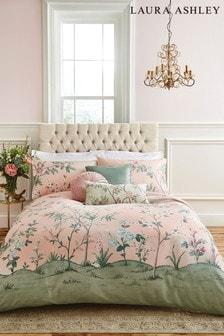Rose Eglantine Duvet Cover and Pillowcase Set