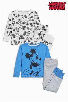 Set de două pijamale Mickey Mouse™ Snuggle Fit (9 luni - 8 ani)
