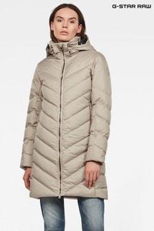 מעיל פוך ארוך בגזרה צרה של G-Star מדגם Whistler