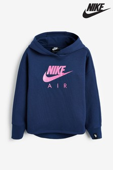 Nike Little Kids Blue Air Overhead Hoody