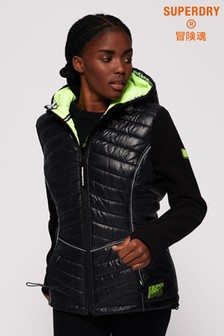 Superdry Storm Sporty Panel Hybrid Jacket