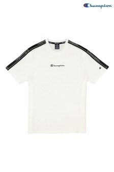 Champion White Crew Neck T-Shirt