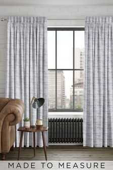 Mirage Silver Grey Made To Measure Curtains