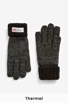 Mixed Yarn Thinsulate™ Gloves (3-16yrs)