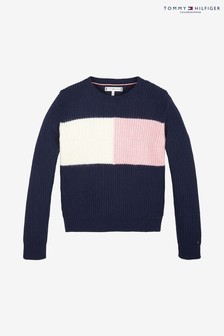 Tommy Hilfiger Flag Colourblock Sweater