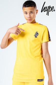 Hype. Kids Yellow LEGO® Ninjago Cole Taping T-Shirt
