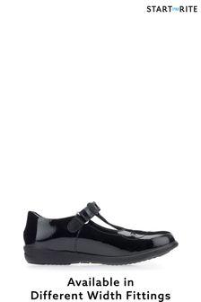Start-Rite Poppy Black Patent Leather Shoes
