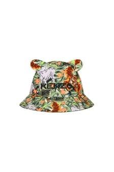 Kenzo Kids Baby Boys Khaki Hat