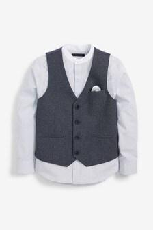 Puppytooth Waistcoat/Shirt Set (12mths-16yrs)