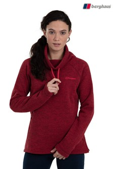 Berghaus Red Canvey Half Zip Fleece