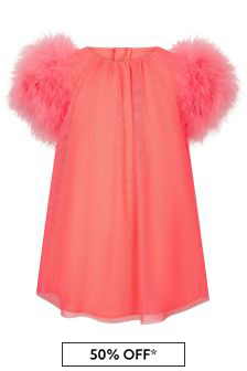 Charabia Girls Pink Dress
