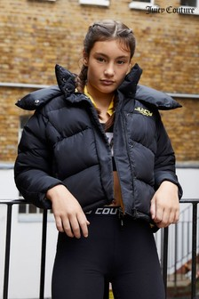 "Дутая куртка с рукавами ""летучая мышь"" Juicy Couture"