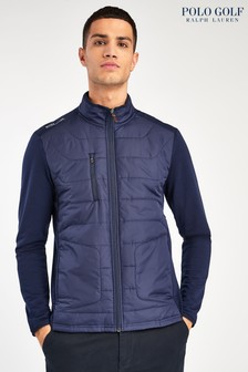 RLX Ralph Lauren Golf Navy Padded Hybrid Jacket