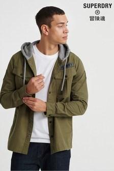 Superdry Utility Long Sleeve Hooded Jacket