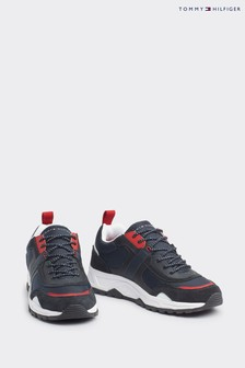 Tommy Hilfiger Black Chunky Trainers