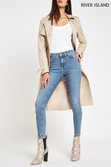 River Island Regular Leg Mid Auth Amelie Noosa Jeans