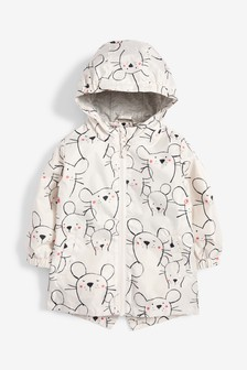 Mouse Print Cagoule (3mths-6yrs)