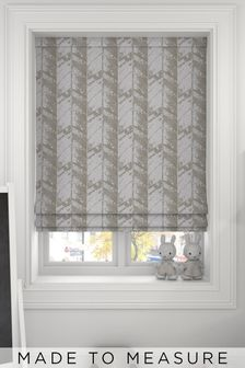Hampson Celadon Green Made To Measure Roman Blind