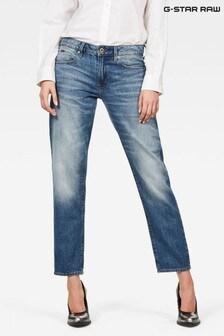 Синие джинсы бойфренда G-Star Kate