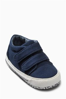 Pram Double Strap Shoes (Younger)