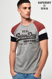 Superdry Vintage Logo 1st Raglan T-Shirt