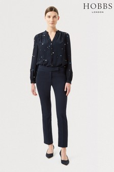 Hobbs Blue Annie Trousers