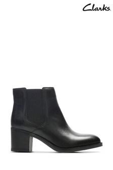 Clarks Black Mascarpone Bay Boots