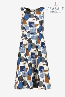 Seasalt Tall Blue Quick Sketch Dress