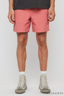 AllSaints Pink Warden Swim Shorts