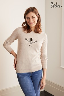 Boden Natural Estella Jumper