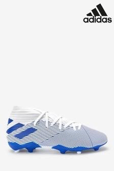adidas White P3 Nemeziz FG Junior & Youth Football Boots