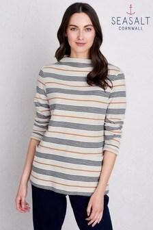 Seasalt Petite Ecru Gwennol Magpie Sweatshirt