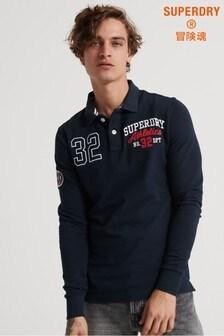 Superdry Superstate Classic Organic Cotton Poloshirt