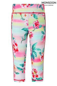 Monsoon Pink Active Serena Ombre Leggings