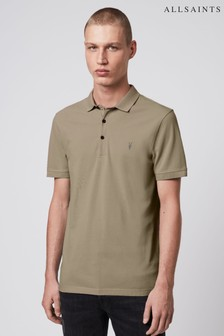 AllSaints Reform Short Sleeved Poloshirt