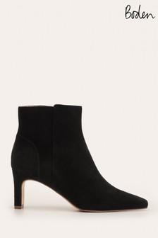 Boden Black Malvern Ankle Boots