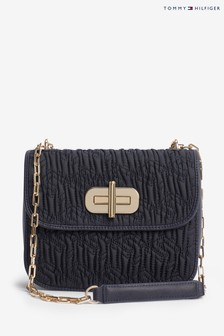 Tommy Hilfiger Quilted Turnlock Crossover Bag