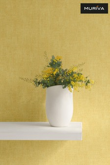 Muriva Darcy James Linen Texture Wallpaper