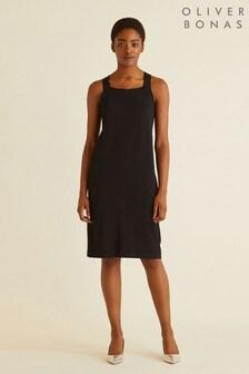 Oliver Bonas Tie Back Knitted Dress