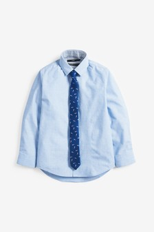Shirt and Ice Lolly Print Tie Set (3-16yrs)