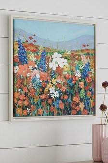 Janet Bell 'Summer Fields' Canvas