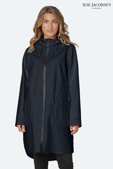 Ilse Jacobson Black Raincoat