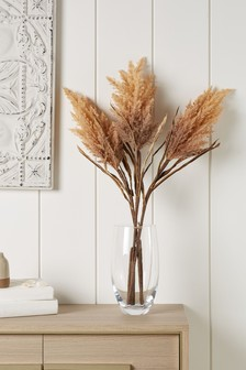 Set of 3 Artificial Pampas Grass Stems